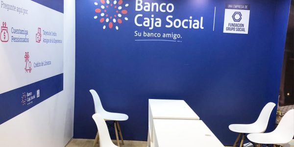 Diseño y produccion de stands para el salón inmobiliario en Bogotá