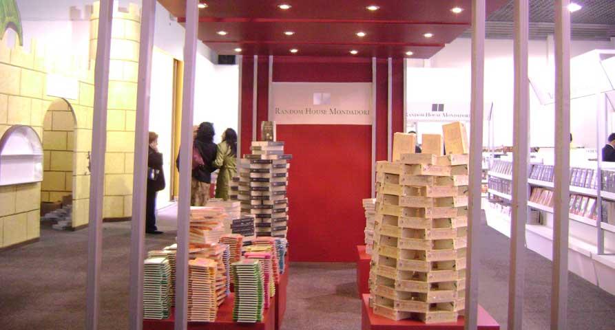 Pabellones y stands para la exhibición de libros