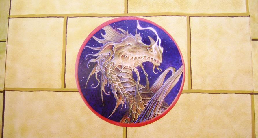 Dragones y fantasía en la feria del libro