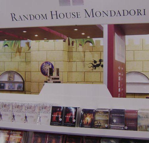 Pabellón Random House Mondadori en la feria del libro