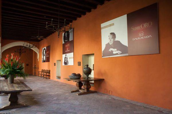 Hall de entrada donde se celebran los conciertos