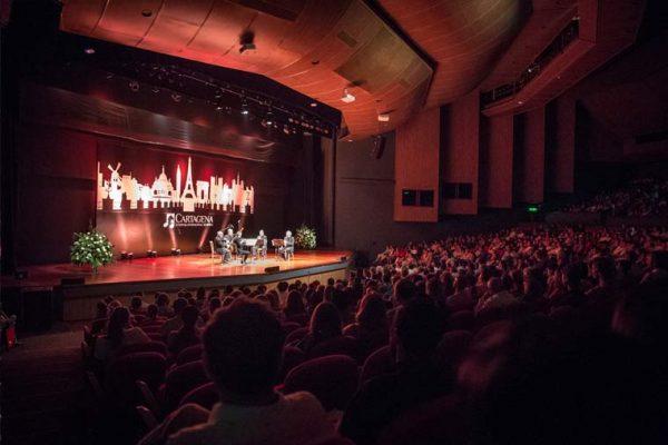 Auditorio Getsemani, escenografía e iluminación