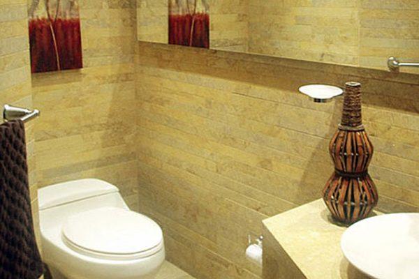 Baño tipo para obras para constructoras