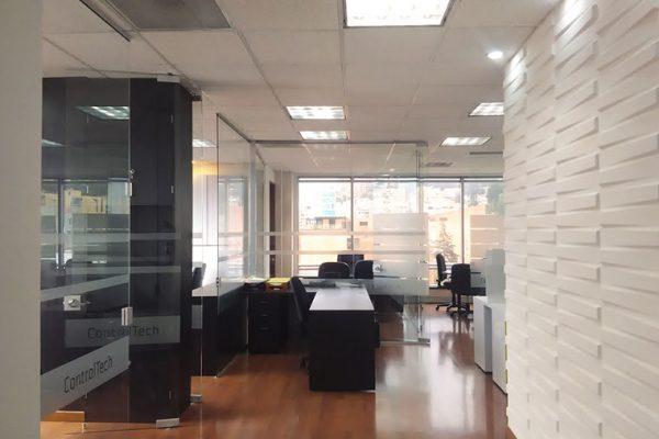 Diseño y adecuación de oficinas en Torres Unidas, Bogotá