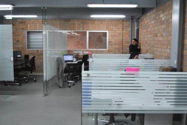 Divisiones de oficina en vidrio para oficinas