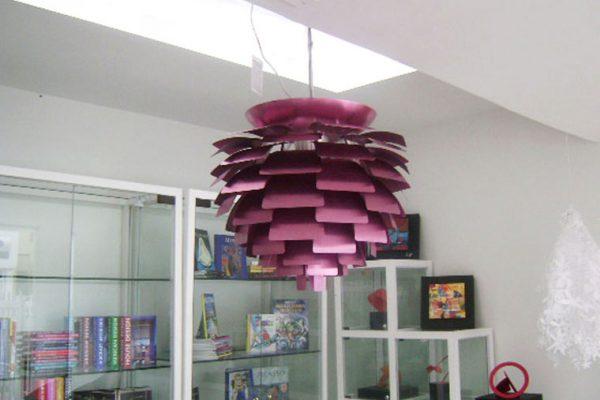 lamparas e iluminación en locales y almacenes