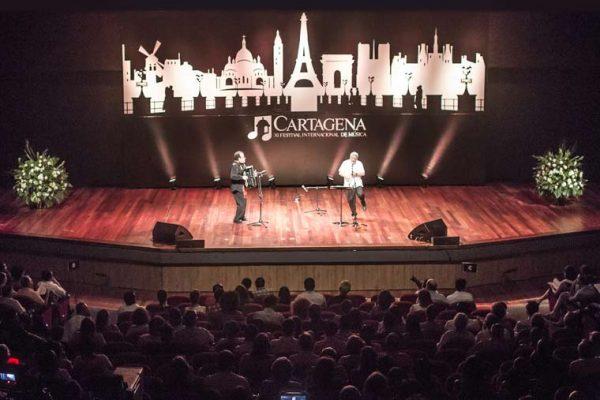 Concierto en la Popa, escenografía y cajas de luz para escenario