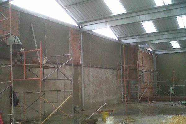 Detalle de obra y construcción